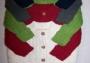 Anil Puri Zopfjacke rot oder grün