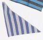 Dreiecktuch CPO grau/blau