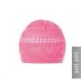 Häkel-Mütze rosa