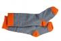Kniestrümpfe CPO graumel./orange